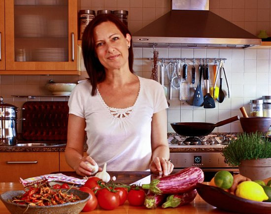 Boca a Boca foodie experience : Sophie in her kitchen