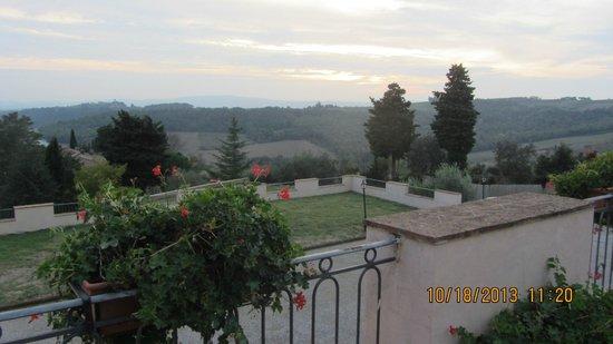 Villa San Filippo Resort: View out window
