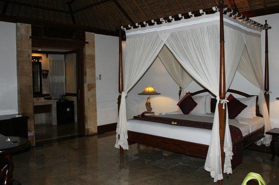 Kori Ubud Resort: LA CHAMBRE