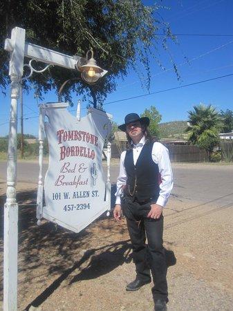 Tombstone Bordello: great photo opportunities