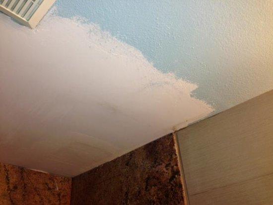 Inn on the Beach : Bathroom ceiling, under repair?