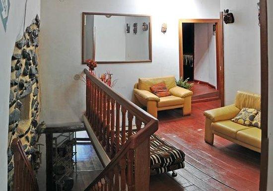 Hostal Kiswar: sala de descanso