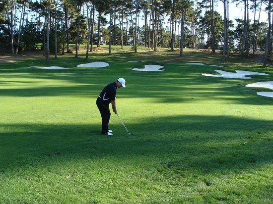 Pebble Beach, Kalifornia: Great golf hole
