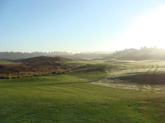 The Links at Spanish Bay: morning dew