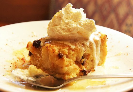 Yosemite Ranch: Jack Daniel's Bread Pudding with Jack Daniel's Bourbon Sauce