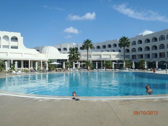 Khayam Garden Beach Resort and Spa: uitzichy van uit de kamer