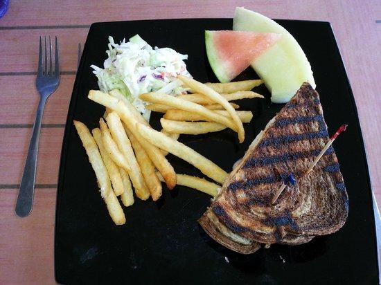 Moore's Stone Crab Restaurant : Grouper Rueben