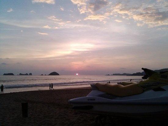 Sunscape Dorado Pacifico Ixtapa: Atardecer