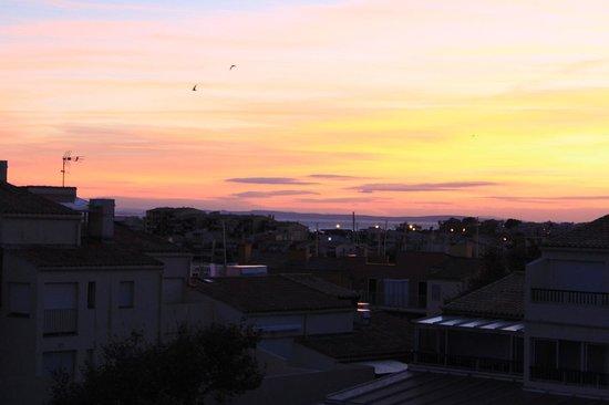 Le Bellevue : Vue du solarium