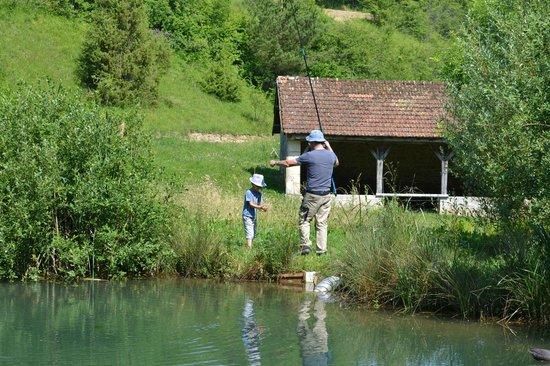 La Cressonniere: la pêche