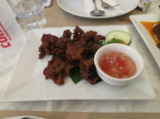 Corazon Hispano Filipino : crispy beef tapa