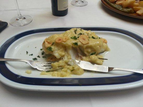 Las Cancelas Restaurant: Bacalo al pil pil