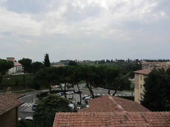 Hotel Italia: View from room