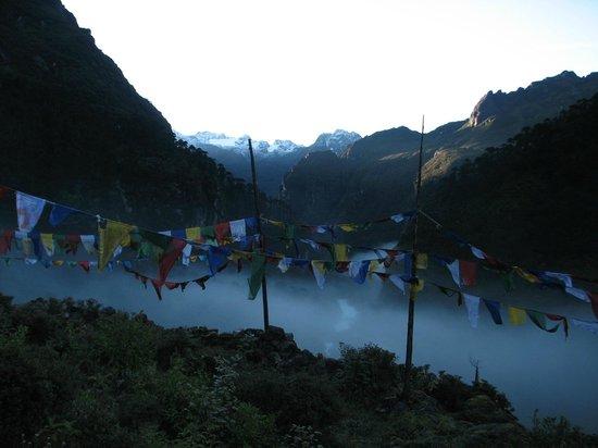 Mongar, Bhutan: Early Morning Mist...