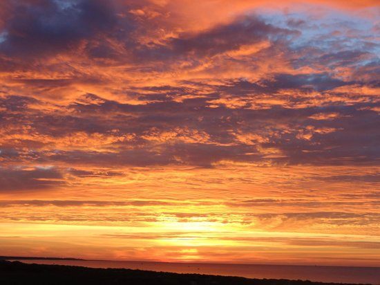 Eurotel Altura: amanecer indescriptible visto desde la habitacion