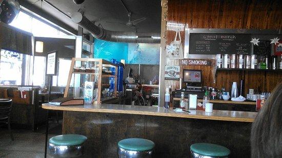 Comet Cafe: Grunge Hipster Diner decor