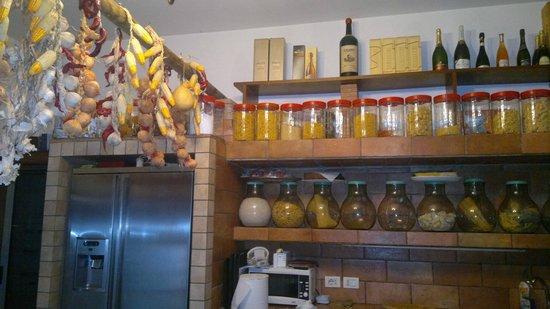 Agriturismo Terrammare: la cucina