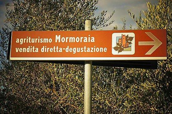 Tenuta Mormoraia : Mormoraia Agriturismo Sign
