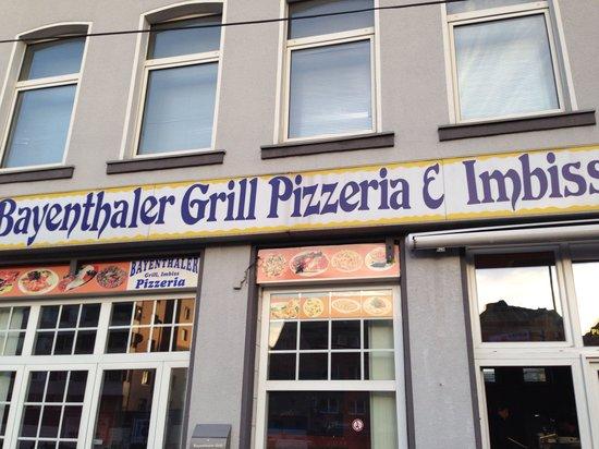 Bayenthaler Grill & Pizzeria: Voorgevel.