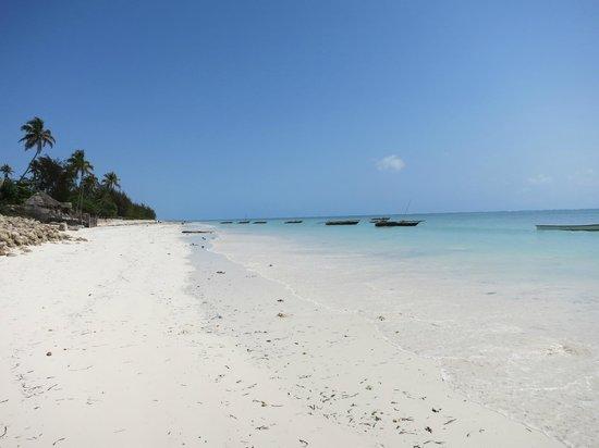 Mamamapambo Boutique Hotel: Jambiani spiaggia (pwani)