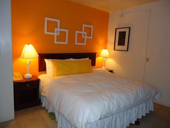Motel Bianco: Quarto muito confortável