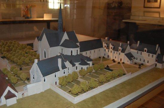 Prieuré Saint-Cosme: maquette