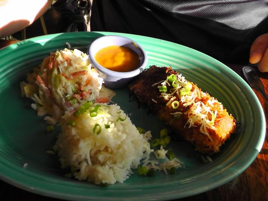 Hula's Island Grill : Salmon with coconut