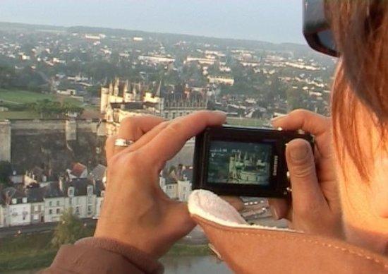 Art Montgolfieres : Amboise, depuis la nacelle d'Art Mpntgolfières