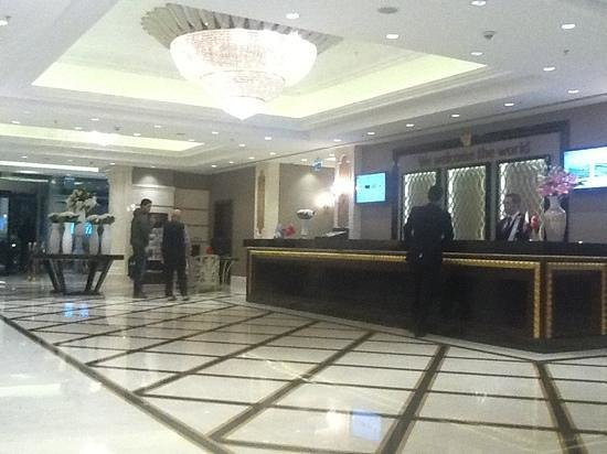 Retaj Royale Istanbul : entree de l'hotel