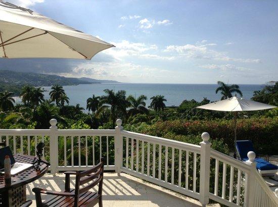 Round Hill Hotel & Villas: Villa View