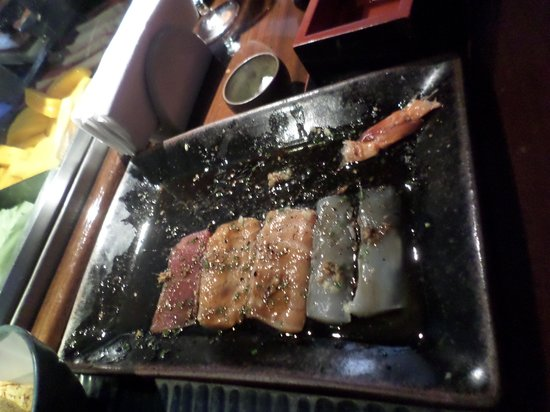 Sushi Leblon : sashimi