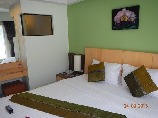 Kalim Place: Кровать