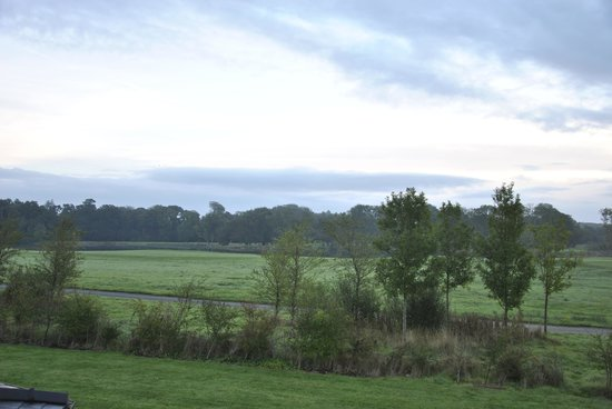 Adare Manor: Our view each morning