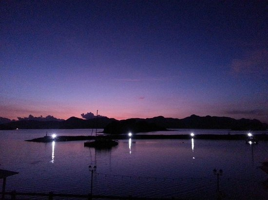 Resorts World Langkawi : stunning sun rise