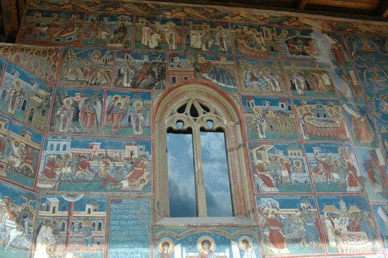 Monasterio de Voronet Bucovina: Mănăstirea Voroneț