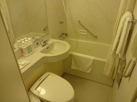 Kansai Airport Washington Hotel: BATHROOM