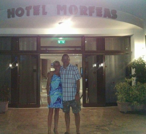 Morfeas Hotel : Our last night 29th sept 2013