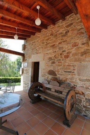Casa do Tarela: terraza