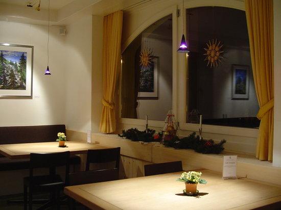 Schorta's Hotel Alvetern: Restaurant