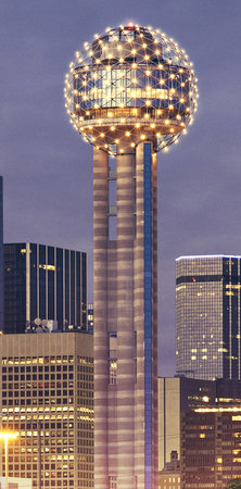 Photo of Scenic Lookout Reunion Tower at 300 Reunion Blvd E, Dallas, TX 75207, United States