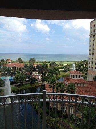Hammock Beach Resort: view from 5th floor room