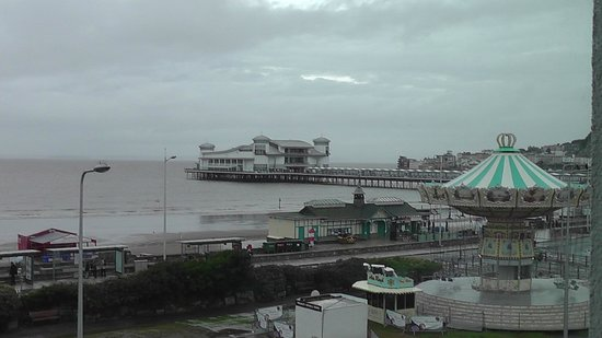 Premier Inn Weston-Super-Mare (Seafront) Hotel: View from room