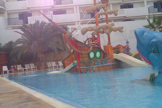 Hotel Los Patos Park: Kiddies swimming pool