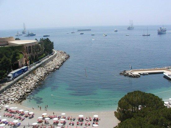 Le Meridien Beach Plaza: Panorama dalla camera 3