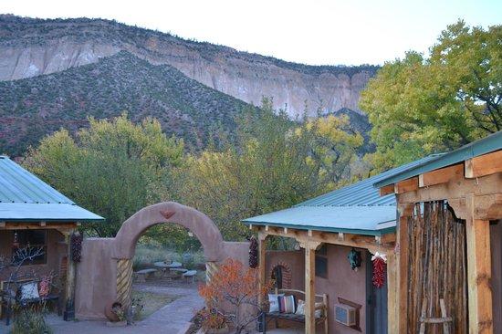 Canon del Rio Retreat & Spa: from the courtyard