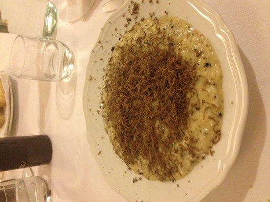 Tric Trac : Il risotto provola e tartufo