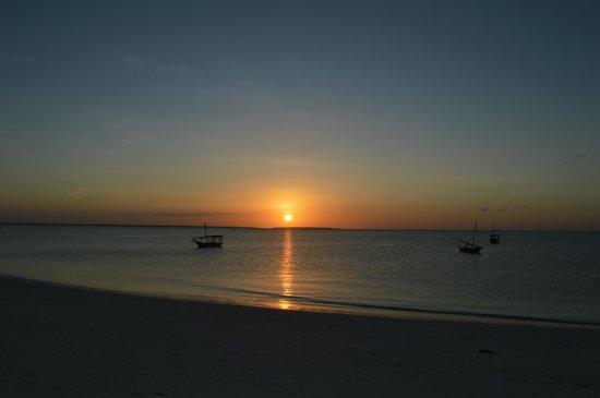 Sunset Kendwa: Beautiful sunset!
