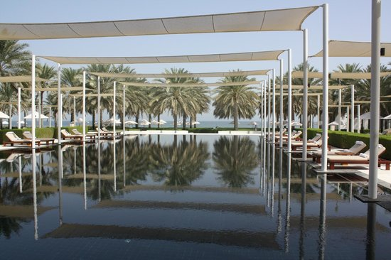 The Chedi Muscat – a GHM hotel : Pool
