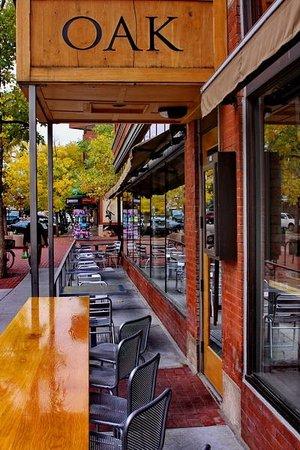 Oak at Fourteenth: OAK outdoor seating