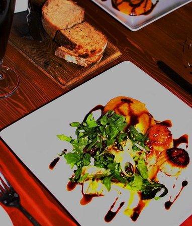 Oak at Fourteenth: Scallops lunch plate